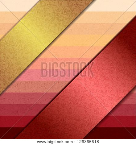 Vector illustration with background with ribbons. Illustration 10 version