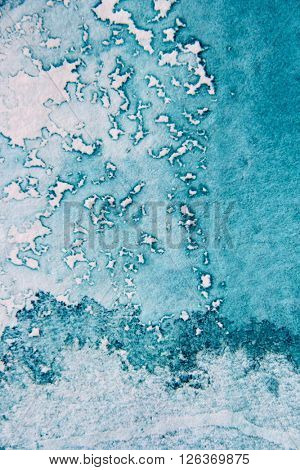 Super Macro Blue Watercolor Textures 13