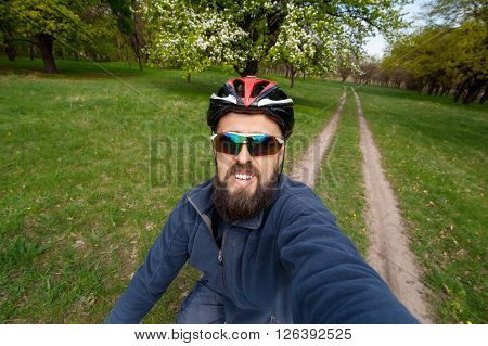 Quick Selfie Before You Go On A Bike01