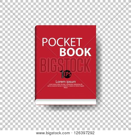 cartoon clip-art concept pocket book. eps10 vector