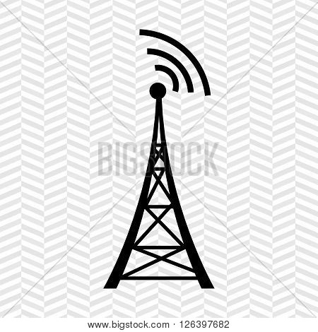 transmitting satellite design, vector illustration eps10 graphic