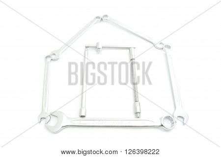 Image Of House Of Wrenches On White