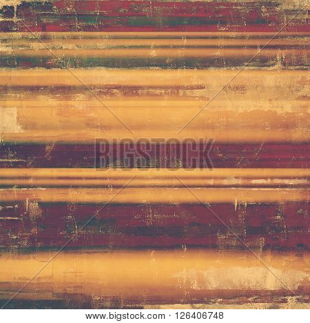 Tinted vintage texture, aged decorative grunge background with traditional antique elements and different color patterns: yellow (beige); brown; gray; purple (violet); pink