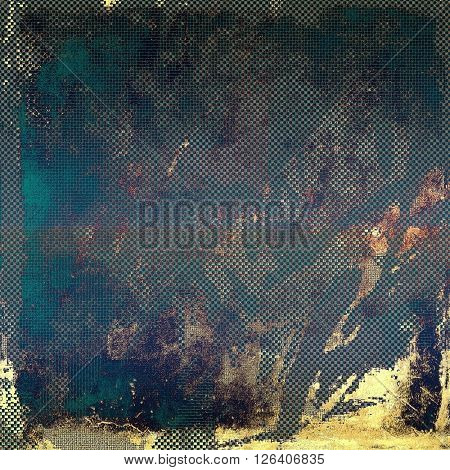 Abstract grunge weathered background of vintage texture. With different color patterns: yellow (beige); brown; gray; blue; purple (violet)