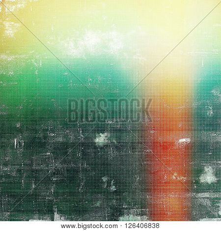 Distressed texture, faded grunge background or backdrop. With different color patterns: yellow (beige); red (orange); green; blue; white