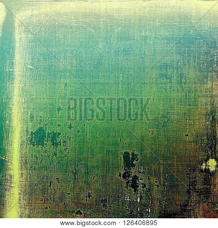 Old abstract texture used as shabby grungy background. With different color patterns: yellow (beige); brown; gray; green; blue; black