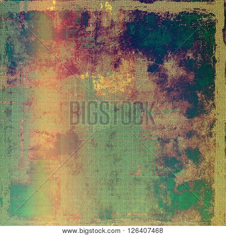 Colorful grunge background, tinted vintage style texture. With different color patterns: yellow (beige); brown; red (orange); green; purple (violet); pink