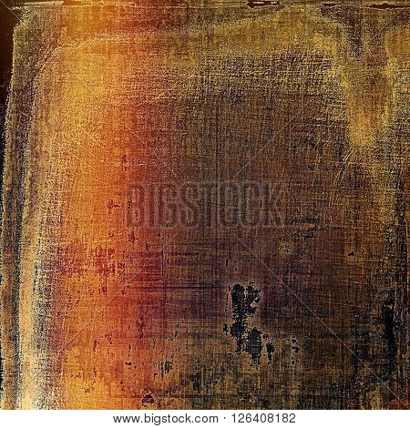 Old abstract texture used as shabby grungy background. With different color patterns: yellow (beige); brown; gray; red (orange); pink; black
