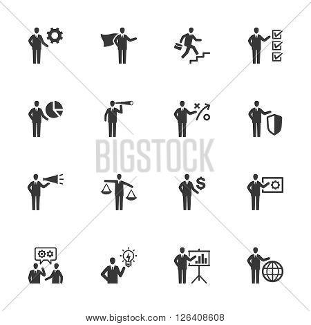 Business & Management Icons - Set 2