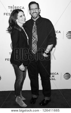 2016 Tribeca - Tribeca Talks Storytellers - Tina Fey With Damian Holbrook