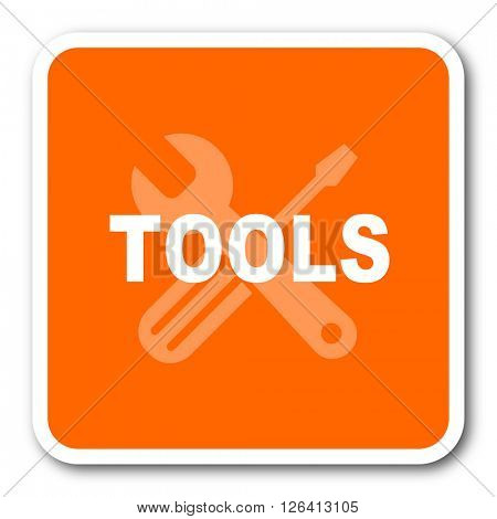 tool orange flat design modern web icon