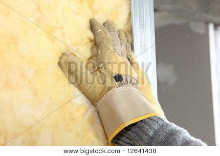 Installation of insulation