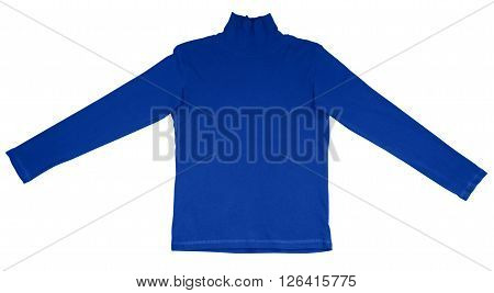 T-shirt With Long Sleeves - Dark Blue