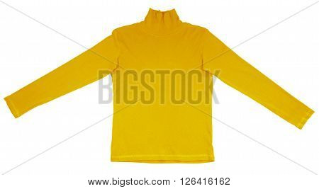 T-shirt With Long Sleeves - Yellow
