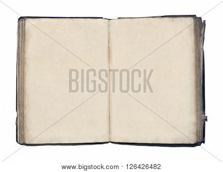 Vintage Book With Blank Pages