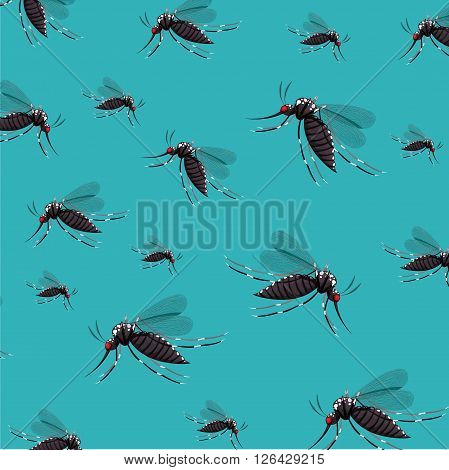 infectious gnat design, vector illustration eps10 graphic