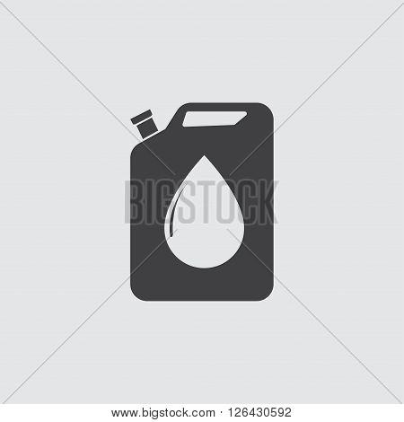 Oil Jerrycan Icon