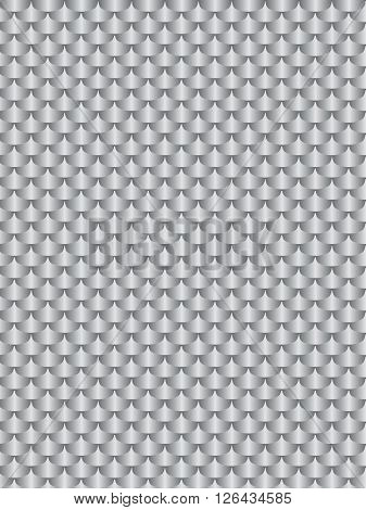 Brushed metal aluminum flake texture seamless. Vector illustration