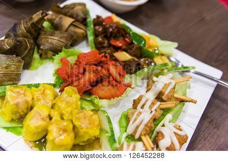 Chinese Vegetarian Appetiser Dish
