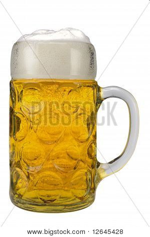 glass german beer