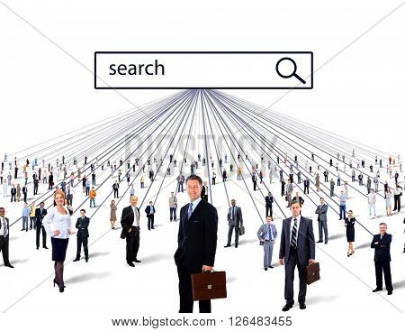 people search. business concept