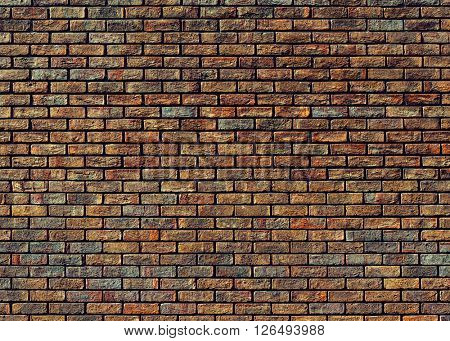 Grungy old brick wall texture
