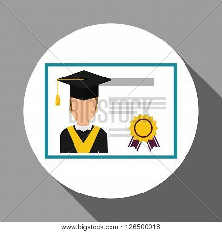 learning concept with icon design, vector illustration 10 eps graphic.