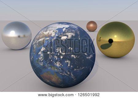 the rare earth planet and precious metals