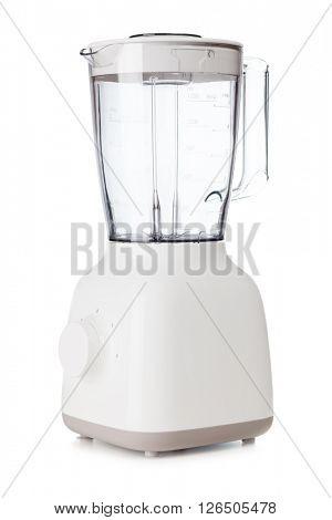 Vertical blender isolated on white background
