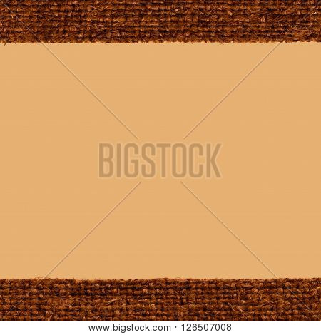 Textile tarpaulin, fabric fashion, brown canvas, woven material rough background