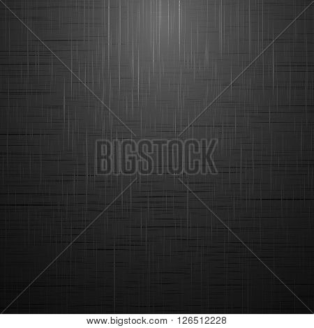 Black brushed surface. Empty dark background for your design and ideas.