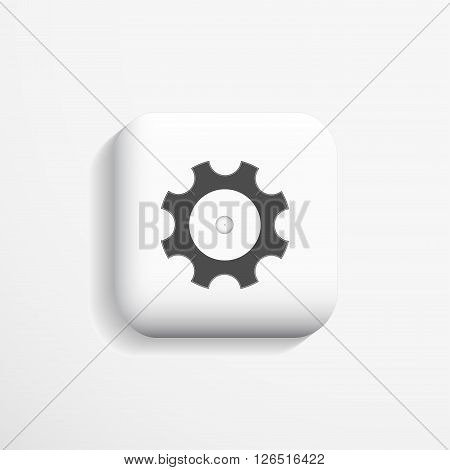 3d configuration icon - option deign. Vector illustration eps10.