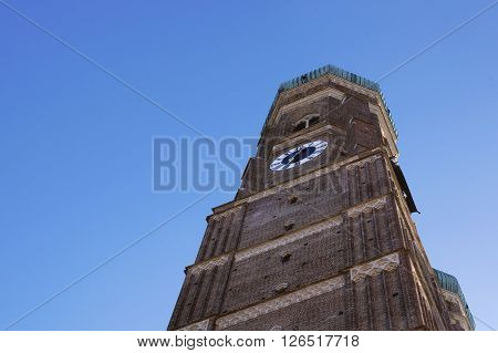 Cathedral of Our Lady (Frauenkirche) in Munich Germany