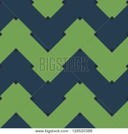 Abstract seamless pattern. Vector endless interlocking geometric pattern.