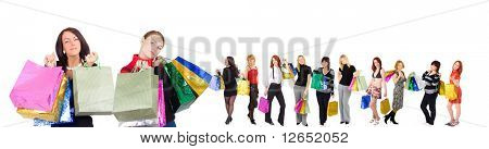 "shopping concept - See similar images of this ""Groups of people"" series in my portfolio"