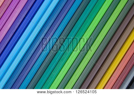 Multicolored Striped Background, Assorted Color Lines