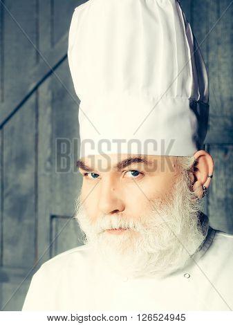 Serious Cook Man