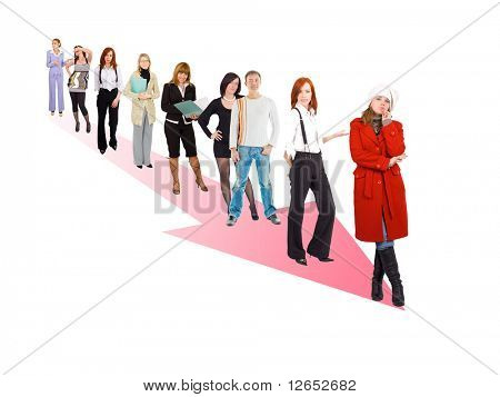 "moving the right direction  - See similar images of this ""Business Concepts"" series in my portfolio"