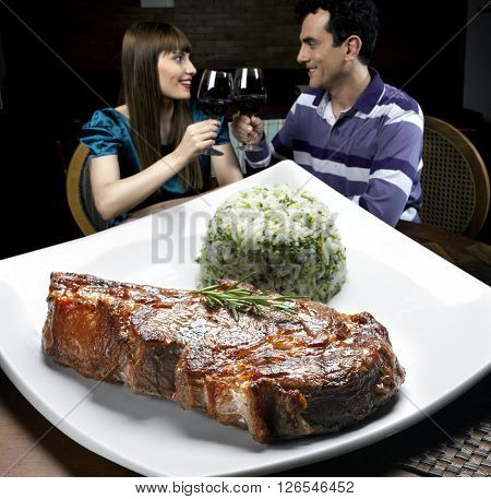 Ribe steak