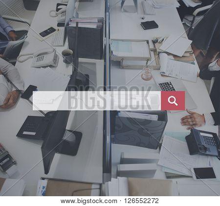 Business Workspace Workstation Working Concept