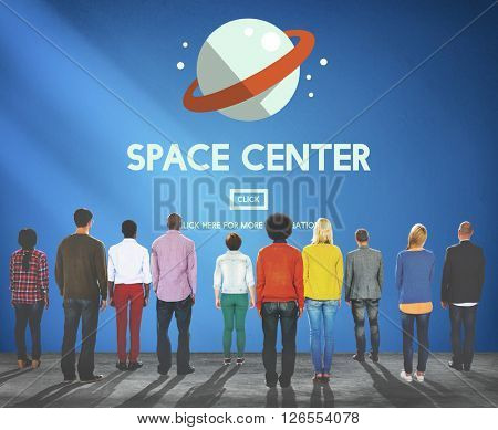 Space Center Astronomy Science Concept