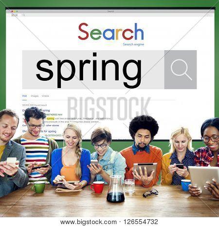 Spring Summer Seasonal Freshness Nature Concept