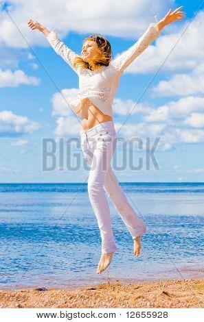 """Me salta como un loco - ver más de la serie de la """"Playa"""" en cartera"""