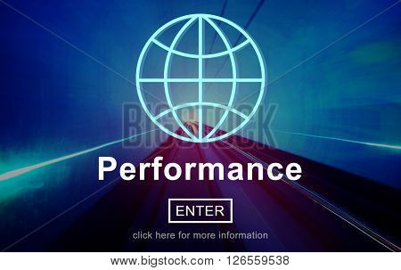 Performance Inspiration Management Perform Skill Concept