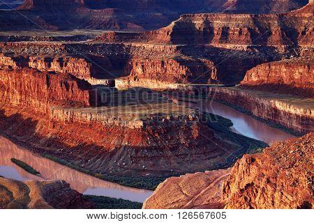 Dead Horse Point, Colorado river, Utah, USA