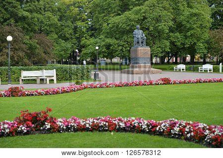 Kadriorg Park Catherine's Valley In Tallinn, Estonia