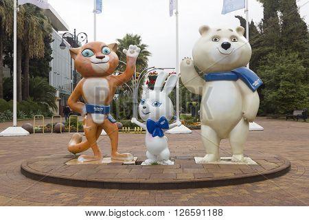 Games 2014 Mascots
