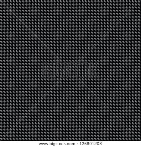 Tileable Carbon texture background Pattern vector illustration