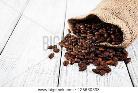 Bag With  Coffee Beans