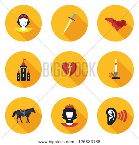 flat icons Othello in vector format eps10